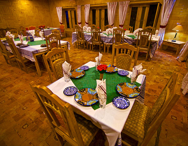Sarai Silk Route Mizushma Restaurant