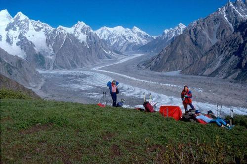 Batura Glacier/ Batura Valley